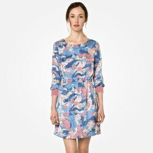 Lacoste Live Japanese wave printed dress - SZ S